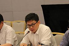 秦皇岛港务集团经理刘志鹏