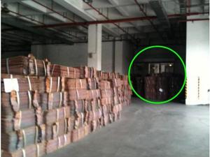 上海保税区铜库存图片